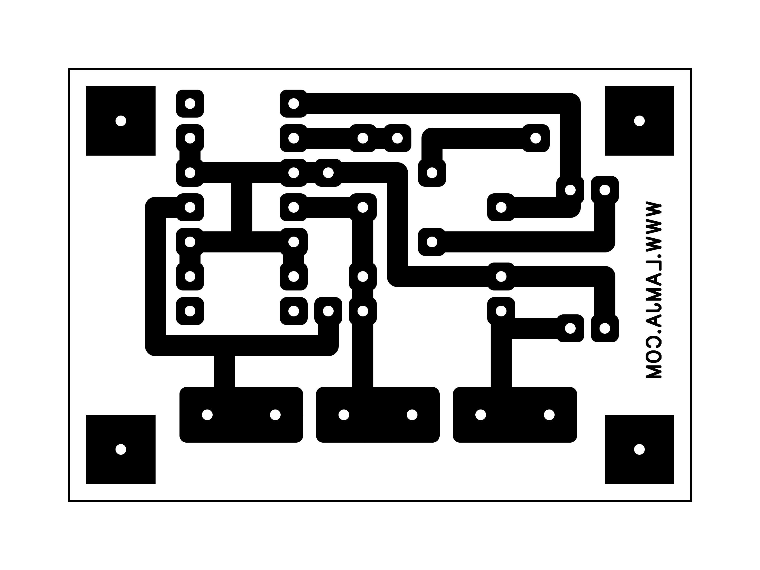 simple pulse generator using lm324 opamp
