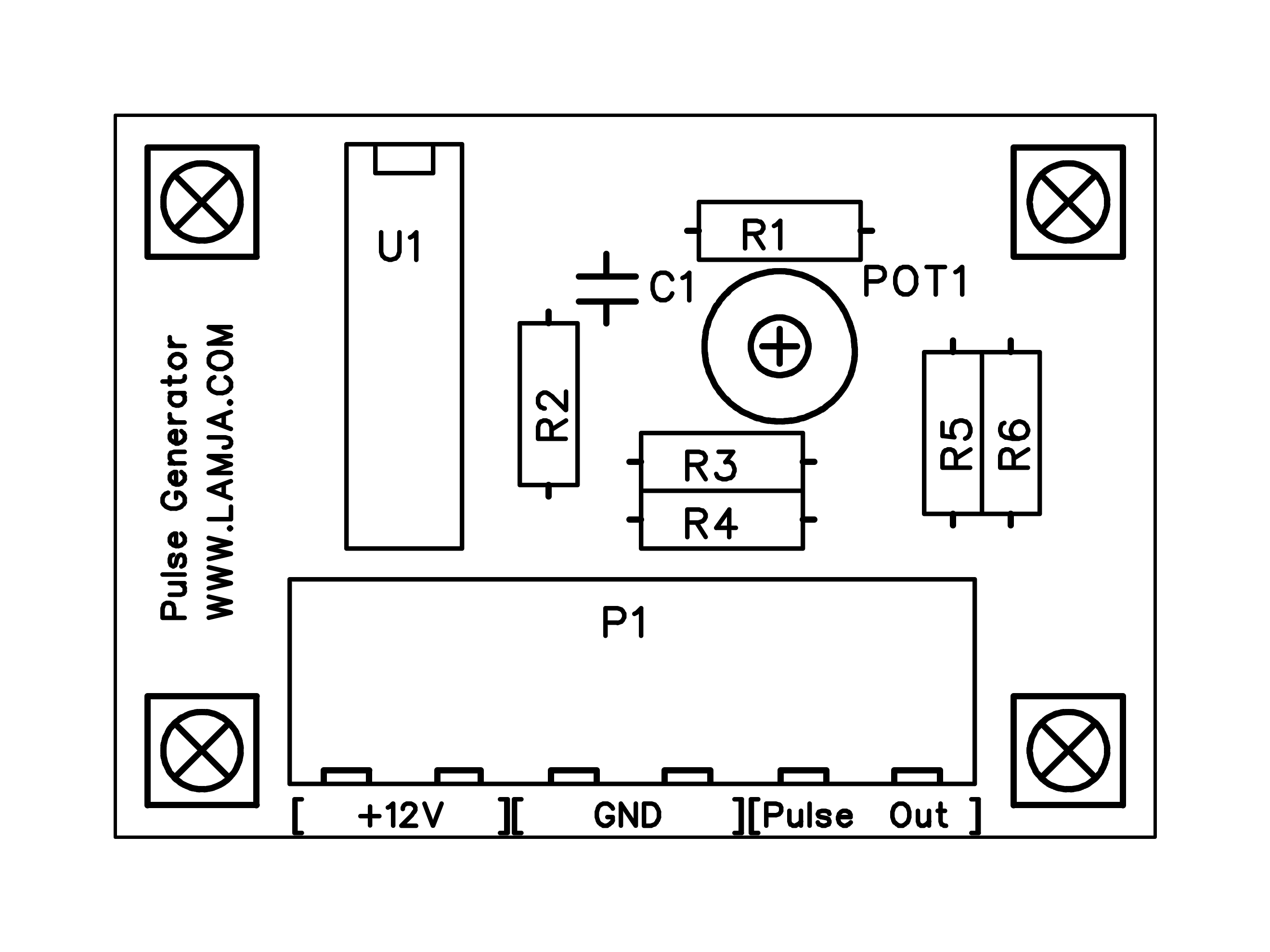 Simple Pulse Generator Using Lm324 Opamp Op Amp Diagram Http Blogfiles Pulsegeneratortopsilk