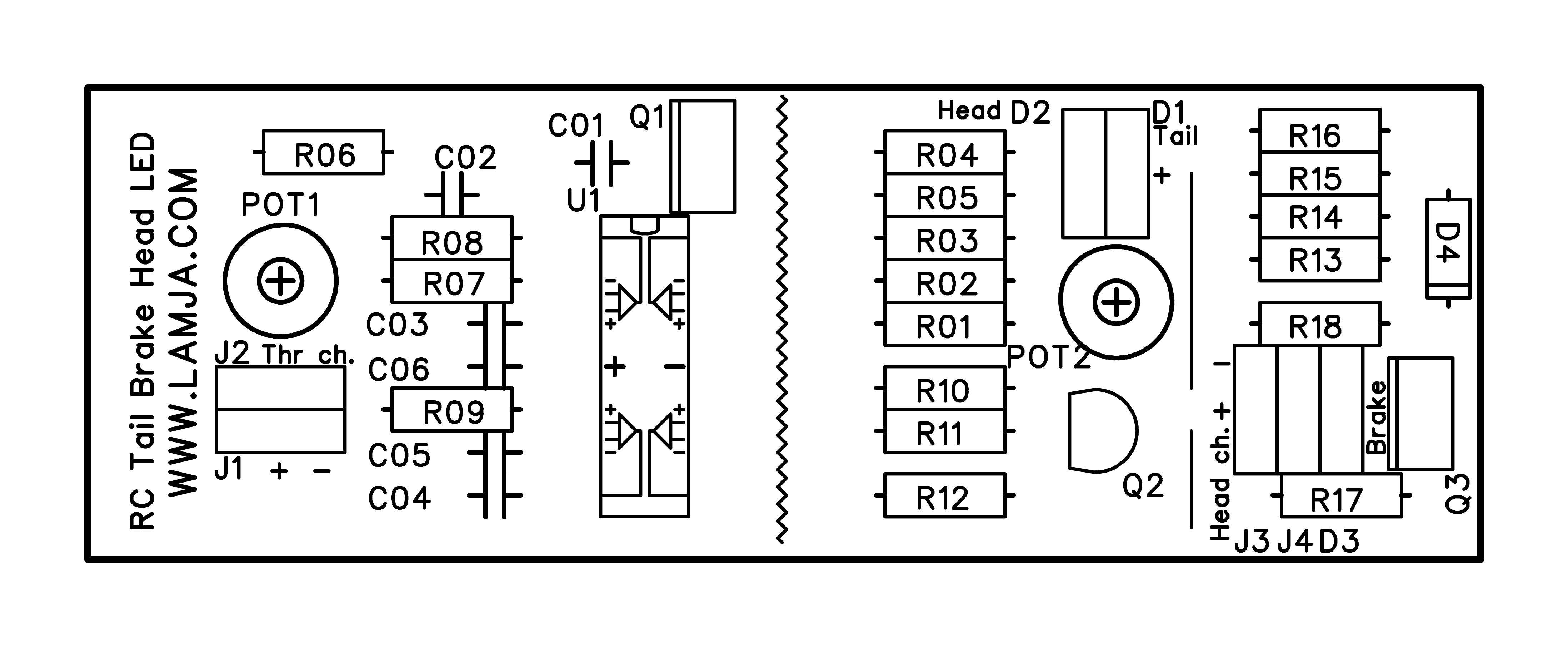 Berühmt Underbody Rc Led Wiring Diagram Ideen - Schaltplan Serie ...