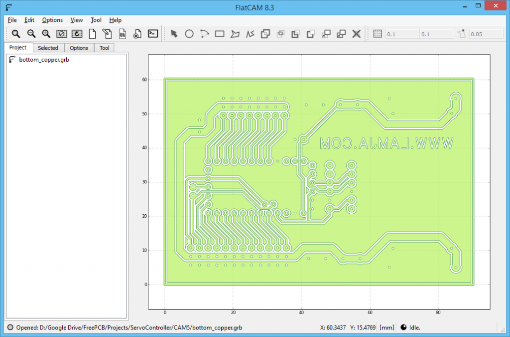 FlatCAM Arduino ServoController 1
