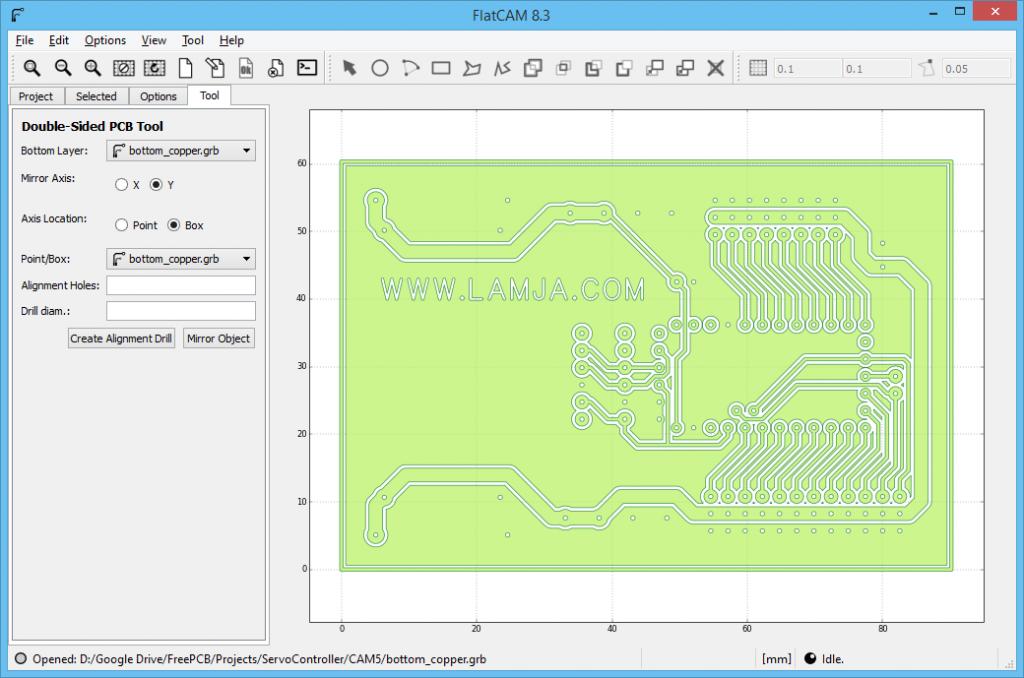 FlatCAM Arduino ServoController 2