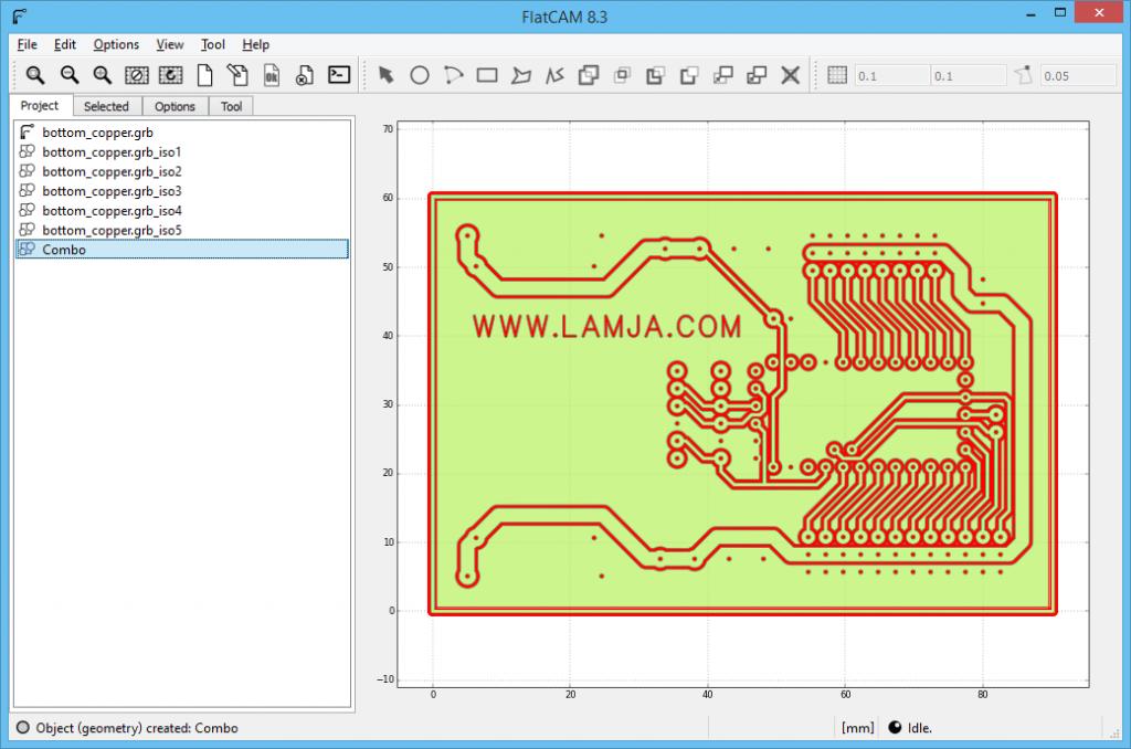 FlatCAM Arduino ServoController 6