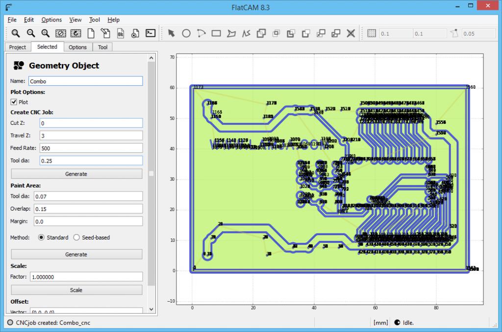 FlatCAM Arduino ServoController 7