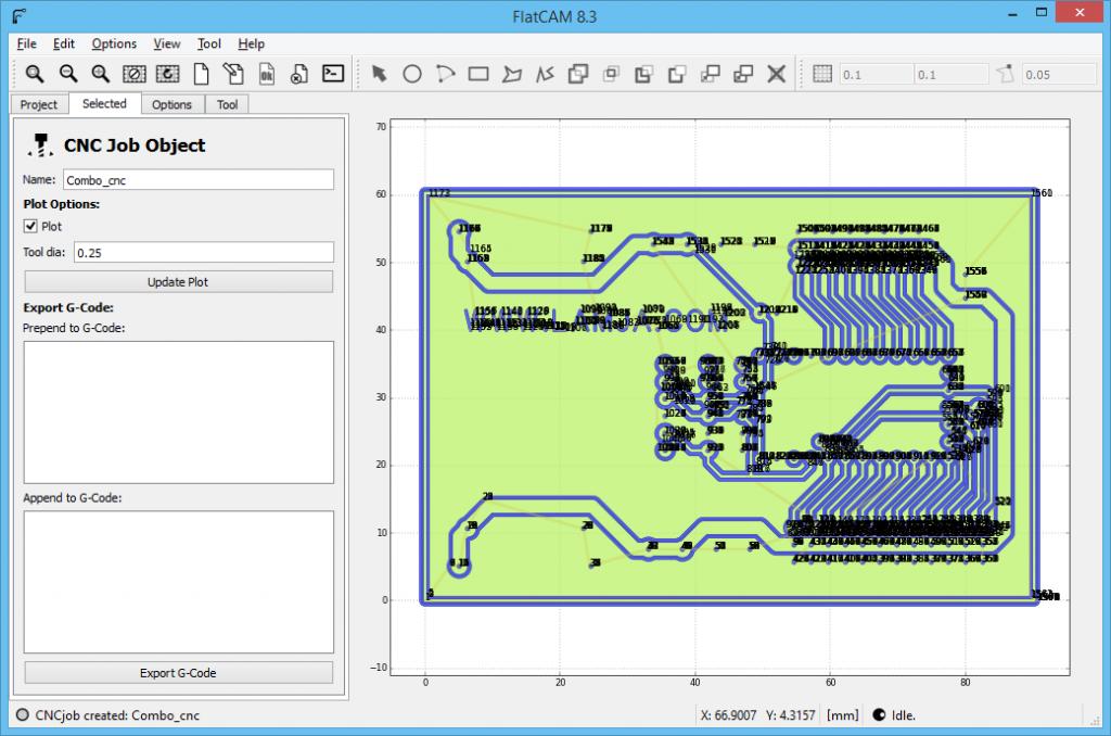 FlatCAM Arduino ServoController 9